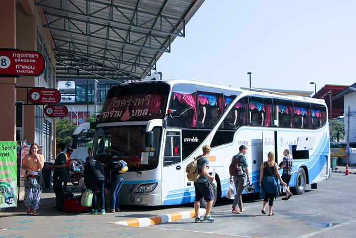 Bus Chiang Mai to Bangkok