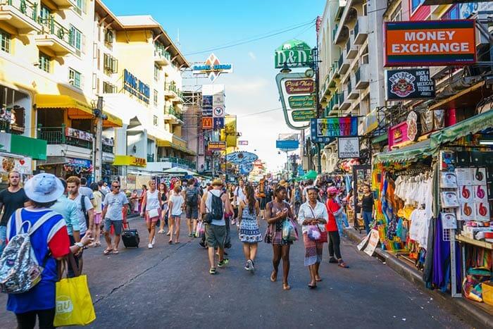 The Street in Khao San Road, Bangkok