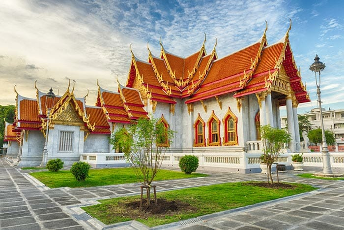 Wat Benchamabophit (The Marble Temple) in Bangkok
