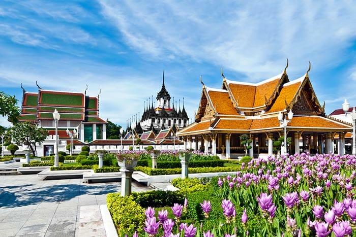 Wat Ratchanatdaram Woravihara (Loha Prasat) in Bangkok