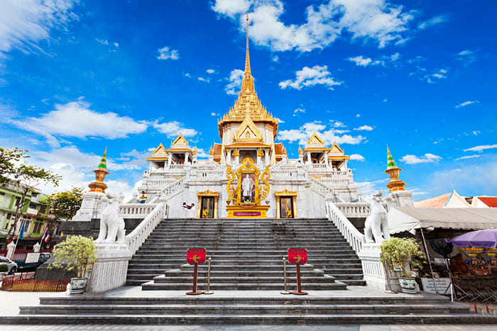 Temple of the Golden Buddha (Wat Traimit) in Bangkok